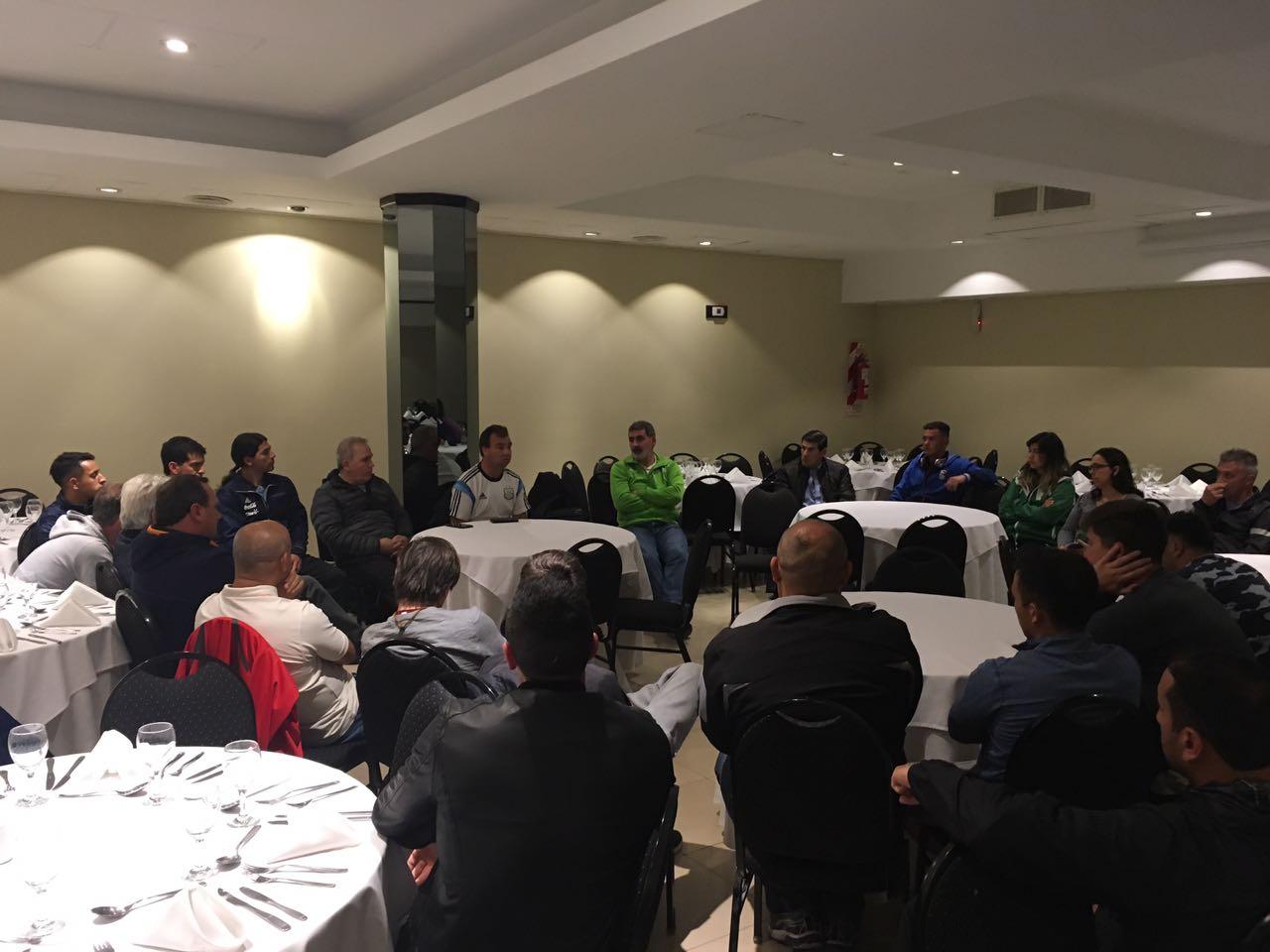 Se presentó la Selección Argentina de fútbol de síndrome de down