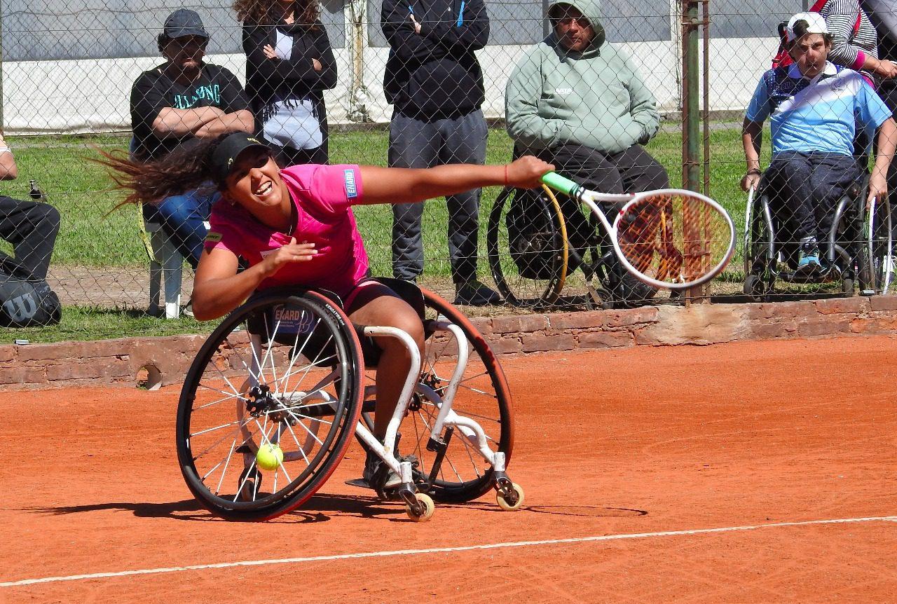 Tenis adaptado: Moreno-Pralong y Moliner-Camusso, las finales del Cañuelas Open