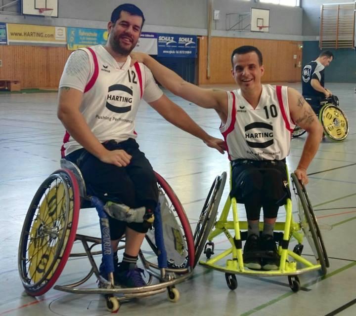Básquet en silla de ruedas: el Rahden de Ruggeri y Gómez, a cuartos de final en Alemania