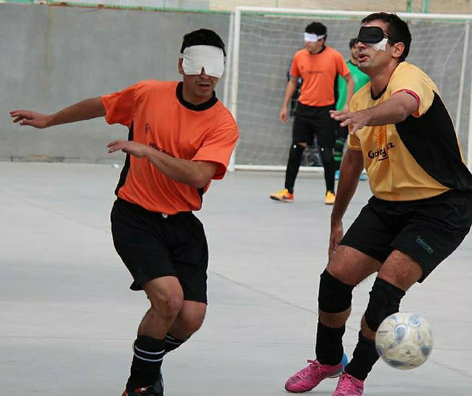 Fútbol para ciegos: fecha decisiva en la Zona Centro
