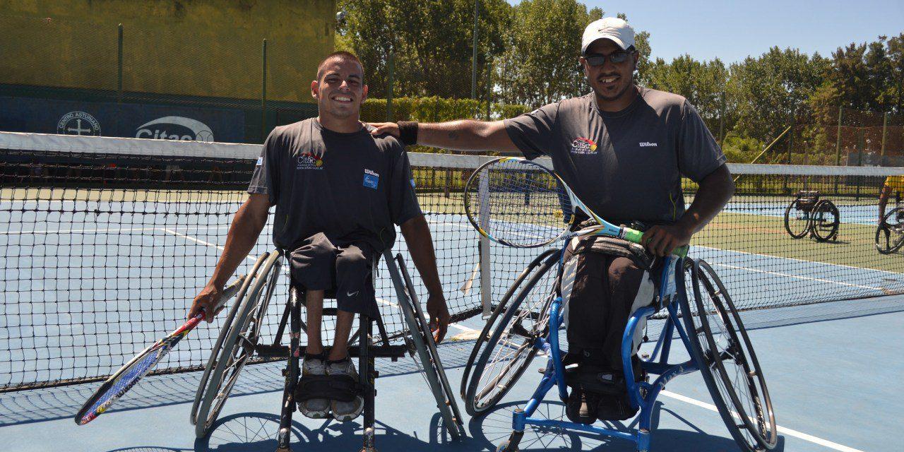 Tenis adaptado: Casco y Ledesma avanzan en República Checa