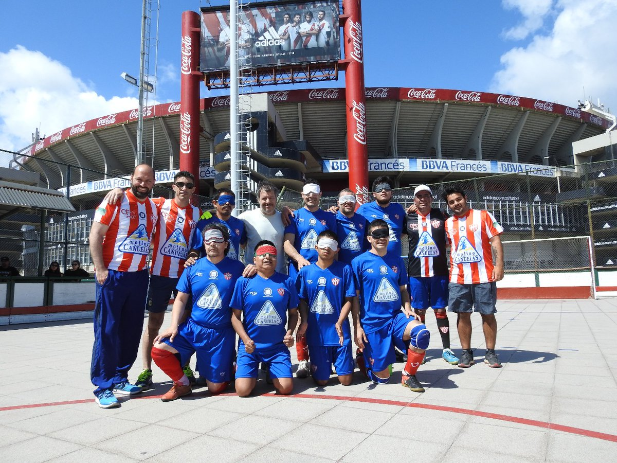 Fútbol para ciegos: Paradeportes Cañuelas FC ya conoce a sus rivales para la semifinal