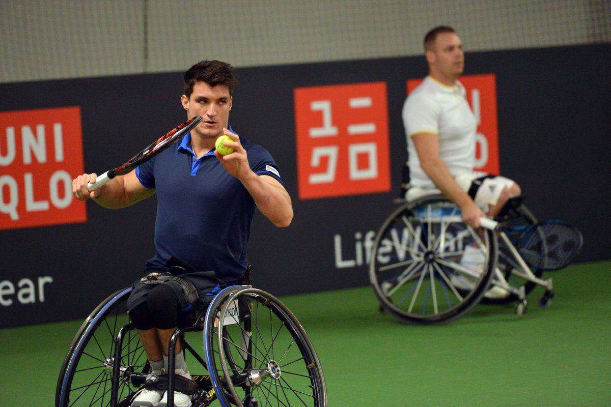 Tenis adaptado: Gustavo Fernández va por el pase a semifinales en el Masters de Dobles
