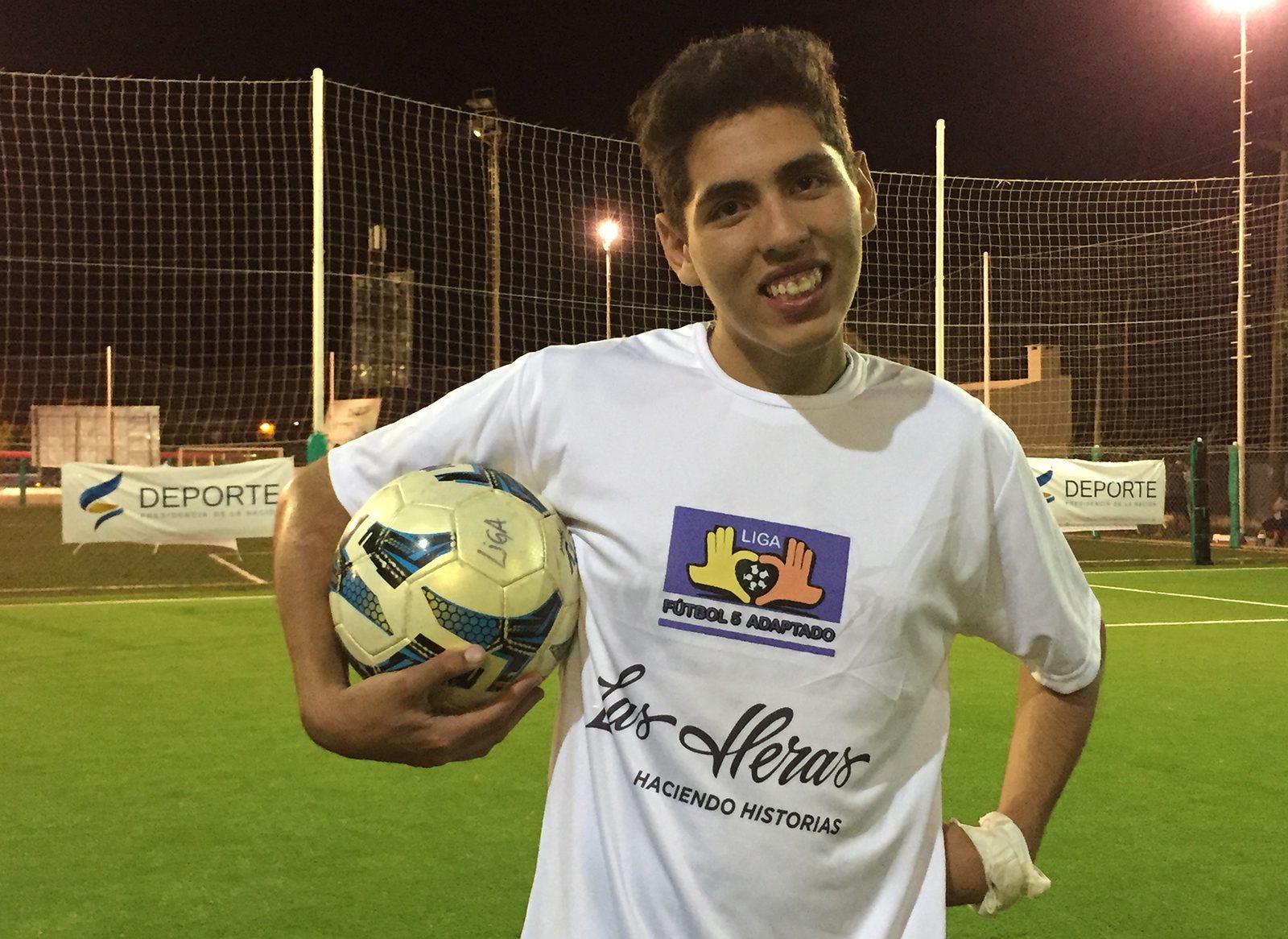 Juegos Nacionales Evita: Ismael Herrera, futbolista