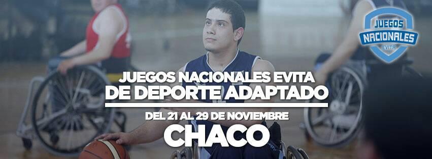 Lo mejor del 2017: Juegos Nacionales Evita de deporte adaptado en Chaco