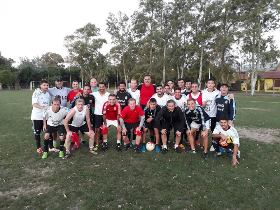 Fútbol 7: con tres caras nuevas, Los Tigres sumaron una nueva concentración