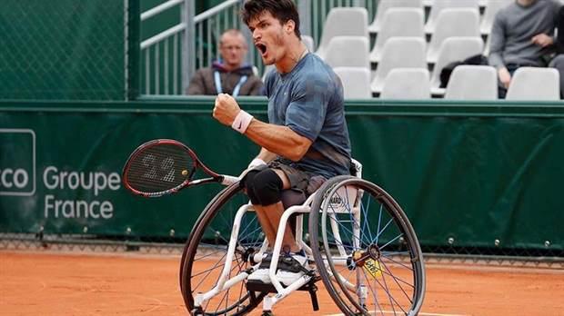 Tenis adaptado: Gustavo Fernández, semifinalista en Inglaterra