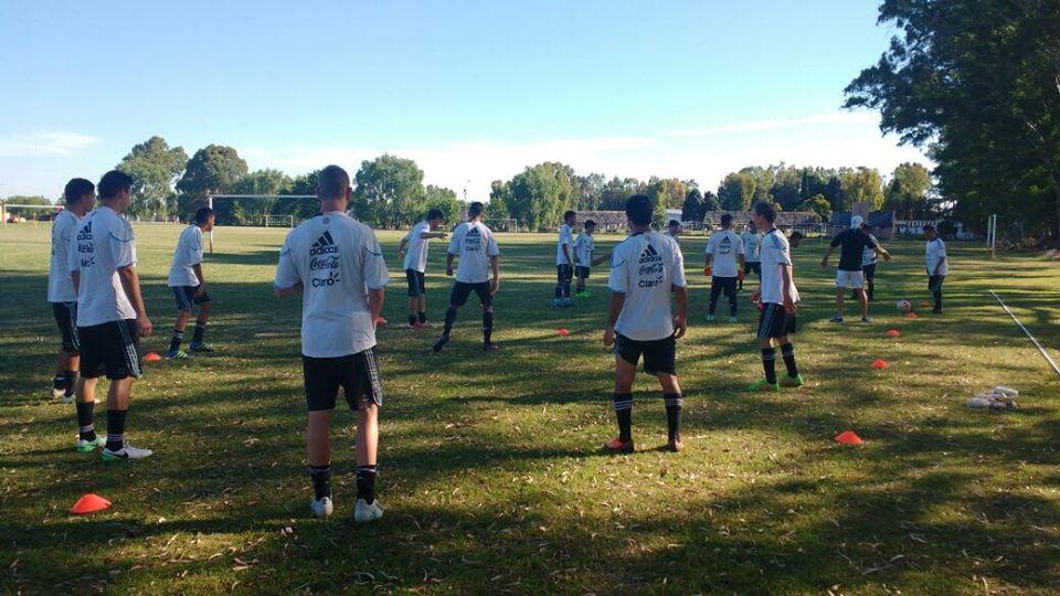 Fútbol 7: la Selección despide el año con una concentración en La Plata