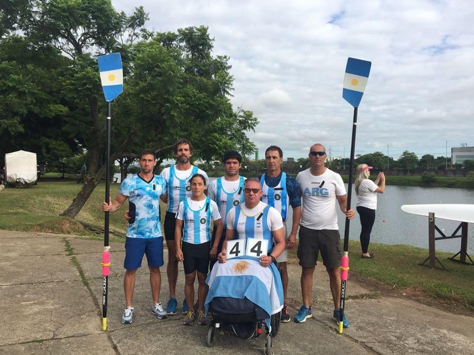 Remo paralímpico: con la mira en el Mundial