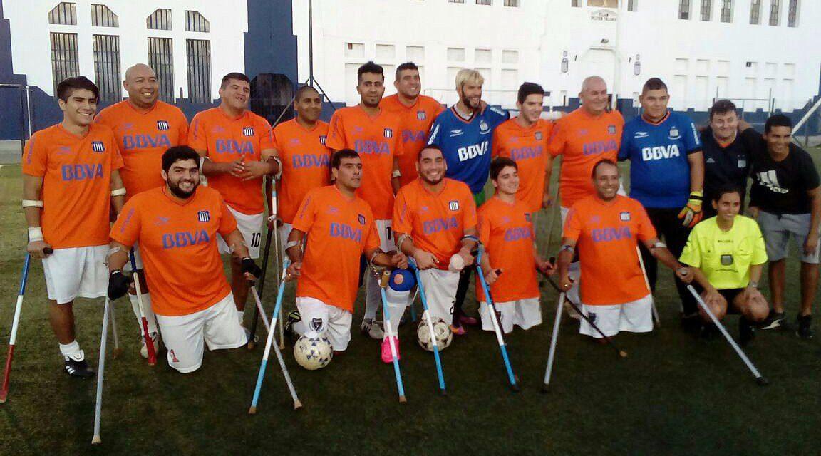 Fútbol para amputados: se define la Liga Nacional