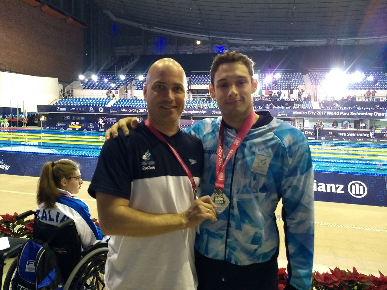Natación: Carlomagno, medalla plateada en el Mundial de México