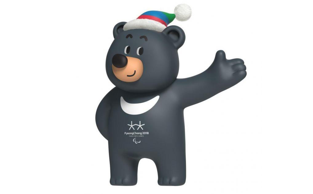 Bandabi, la mascota de los Juegos Paralímpicos de Invierno PyeongChang 2018