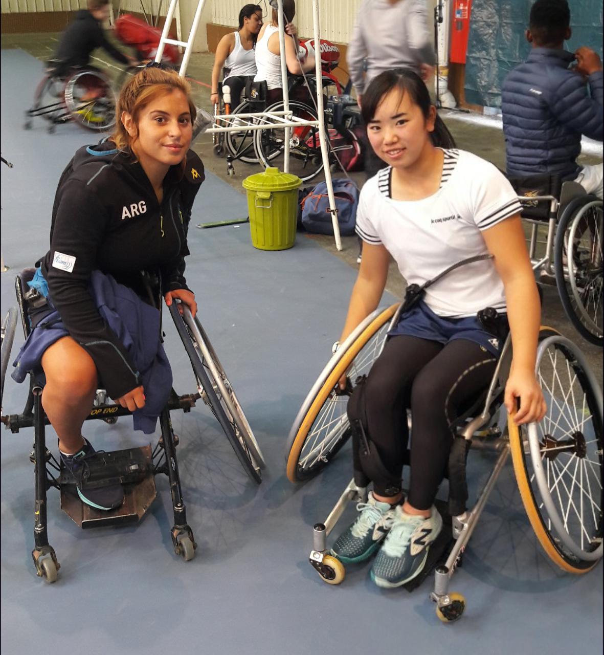 Tenis adaptado: Antonella Pralong, campeona del dobles del Masters de Juniors