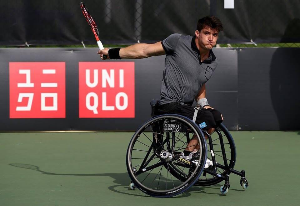 Tenis adaptado: Gustavo Fernández, semifinalista en Holanda