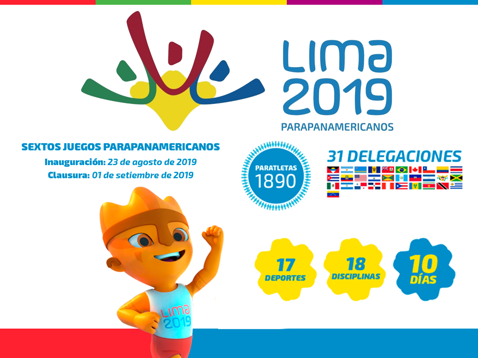 Juegos Parapanamericanos: más detalles de Lima 2019