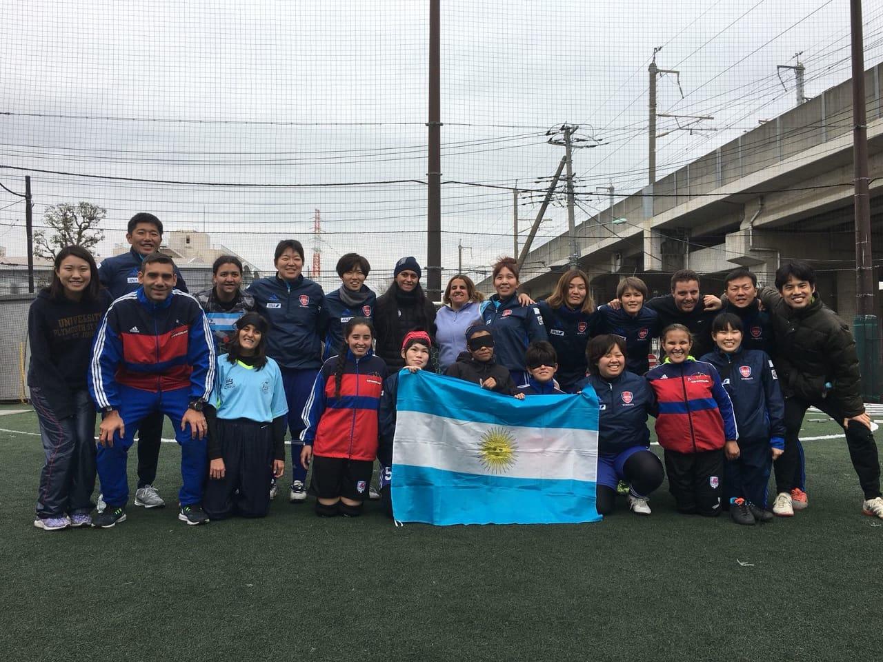 Fútbol para ciegos: Las Guerreras de Córdoba y una experiencia de lujo en Japón