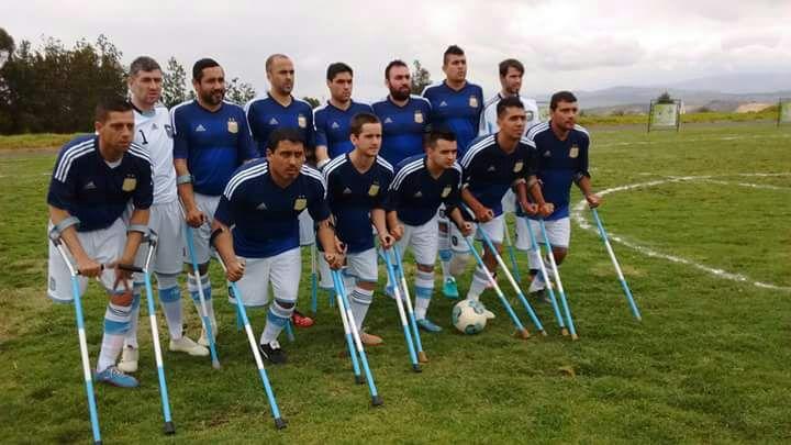 Fútbol de amputados: Argentina debutó con una goleada en el Sudamericano