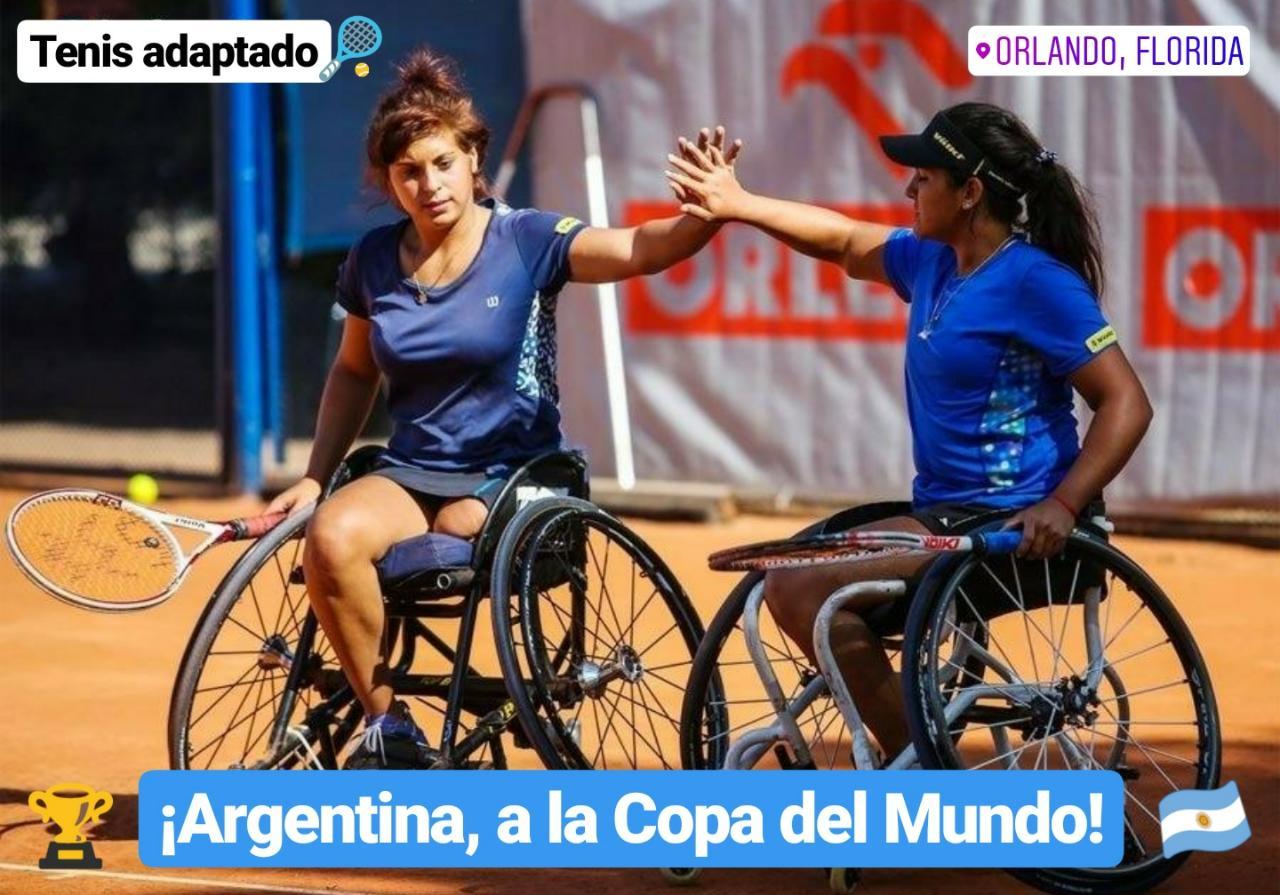 Tenis adaptado: ¡Argentina, a la Copa del Mundo!