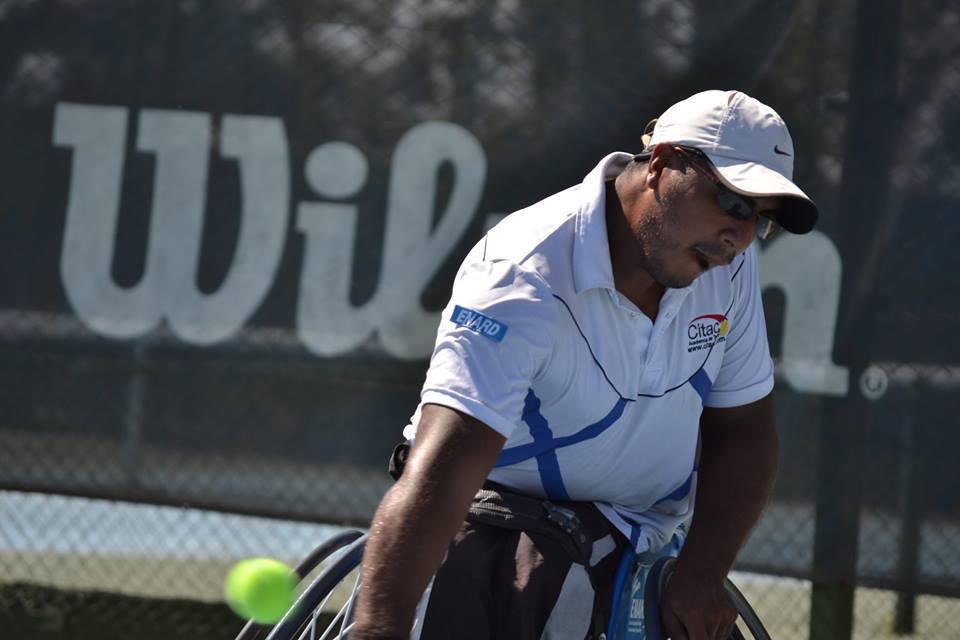 Tenis adaptado: Ledesma avanza en Bolton