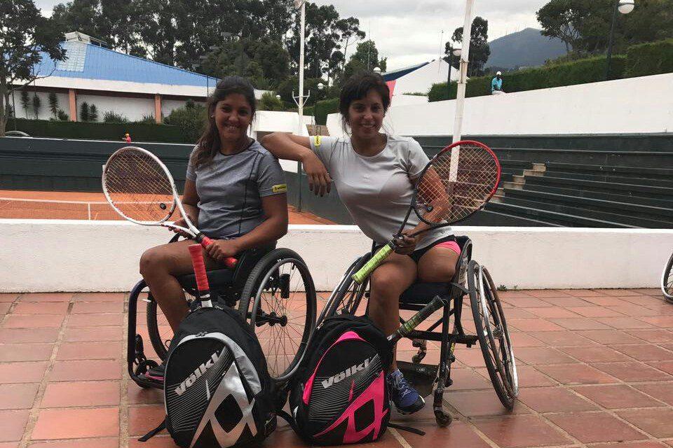 Tenis adaptado: Moreno y Pralong se adelantan en la clasificación a la Copa del Mundo