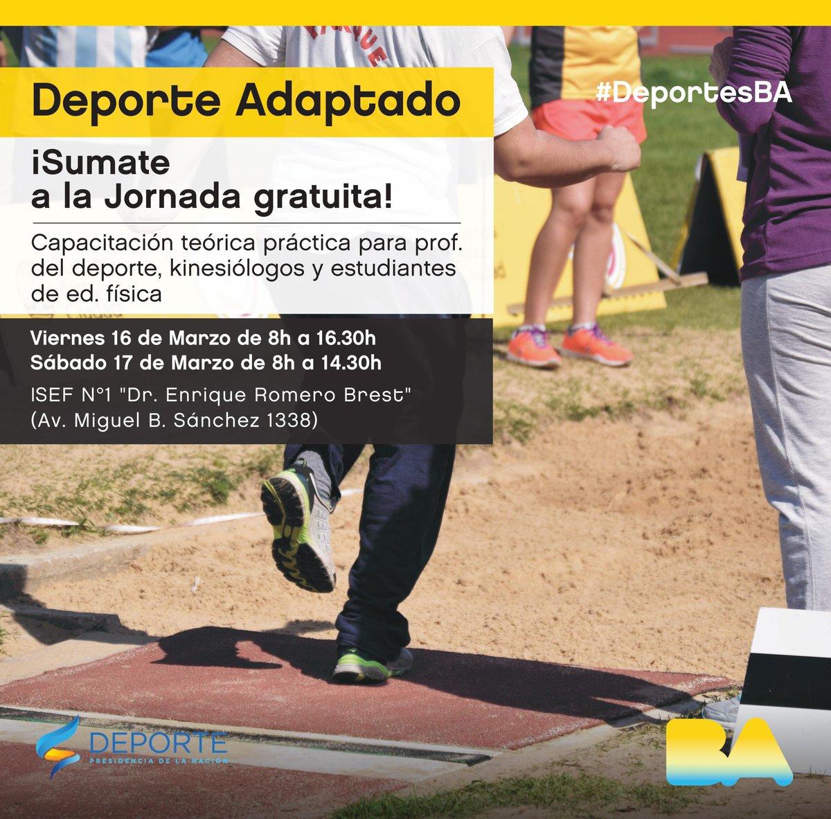 Capacitación en deporte adaptado en la Ciudad de Buenos Aires