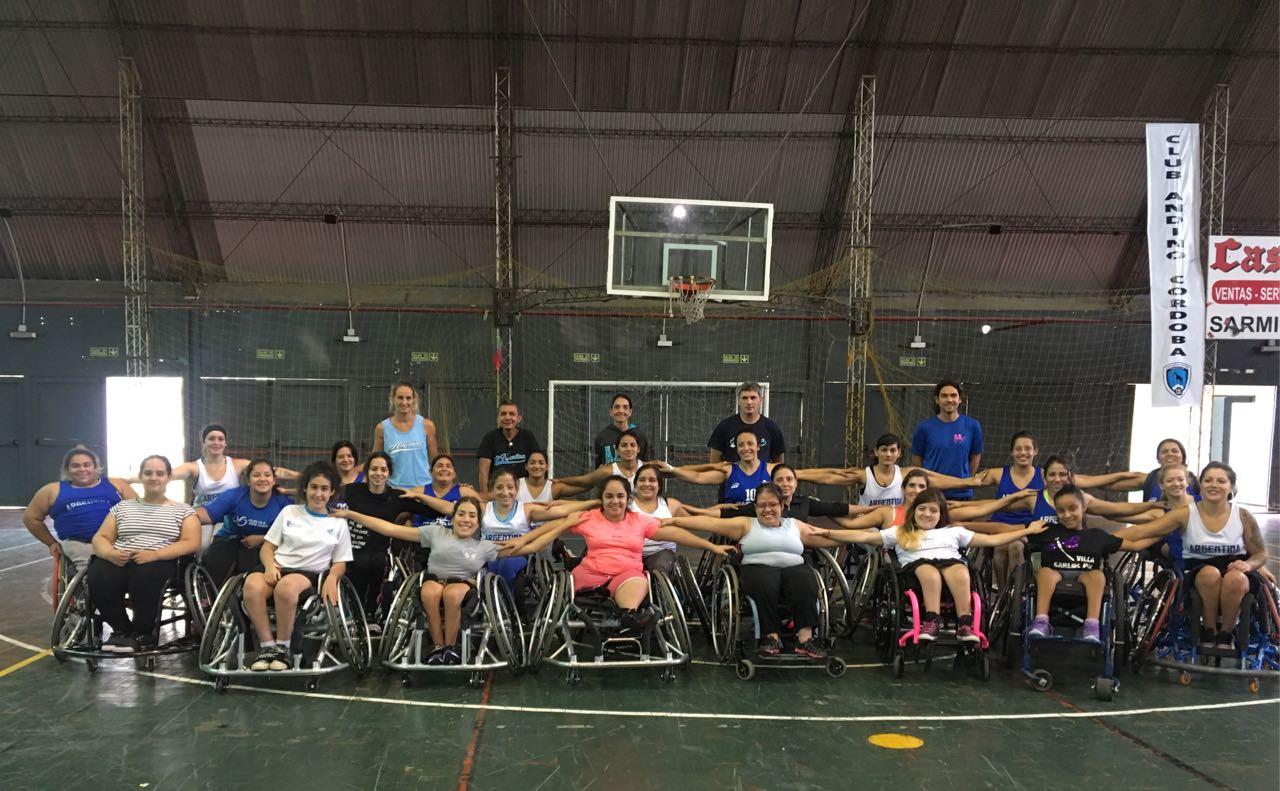 Básquet femenino: la Selección Argentina se presentó en Chubut