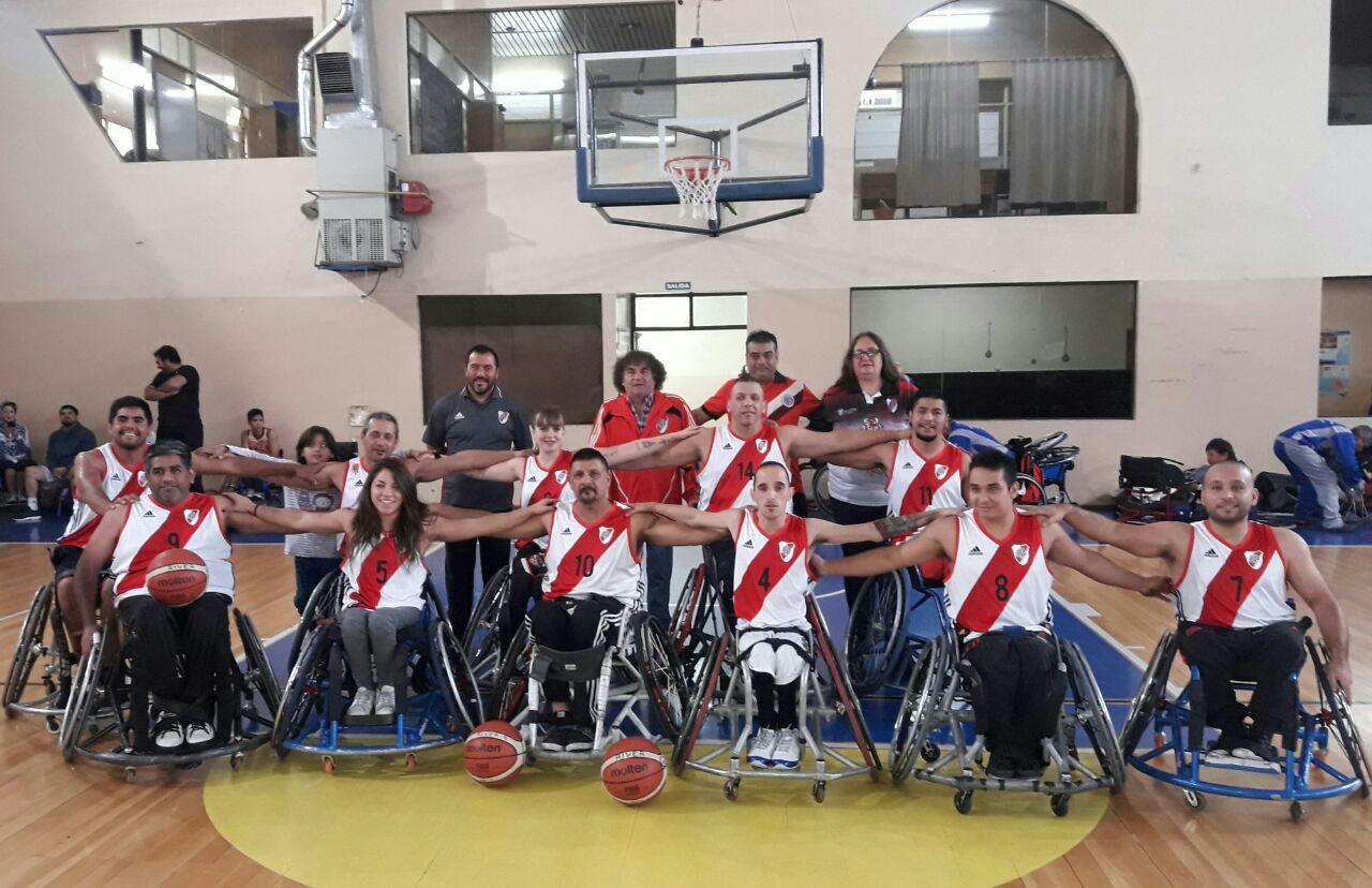 Básquet sobre silla de ruedas: River, Cilsa de Santa Fe y Cilsa de Buenos Aires arrancaron con todo