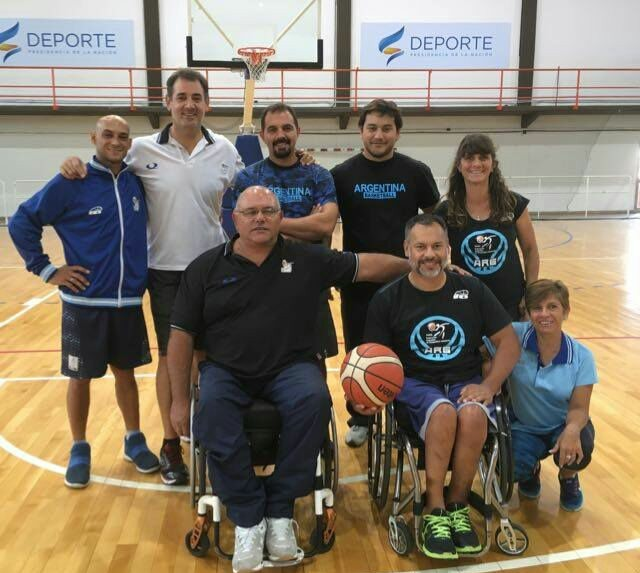 Básquet masculino: la Selección se concentró en el CENARD