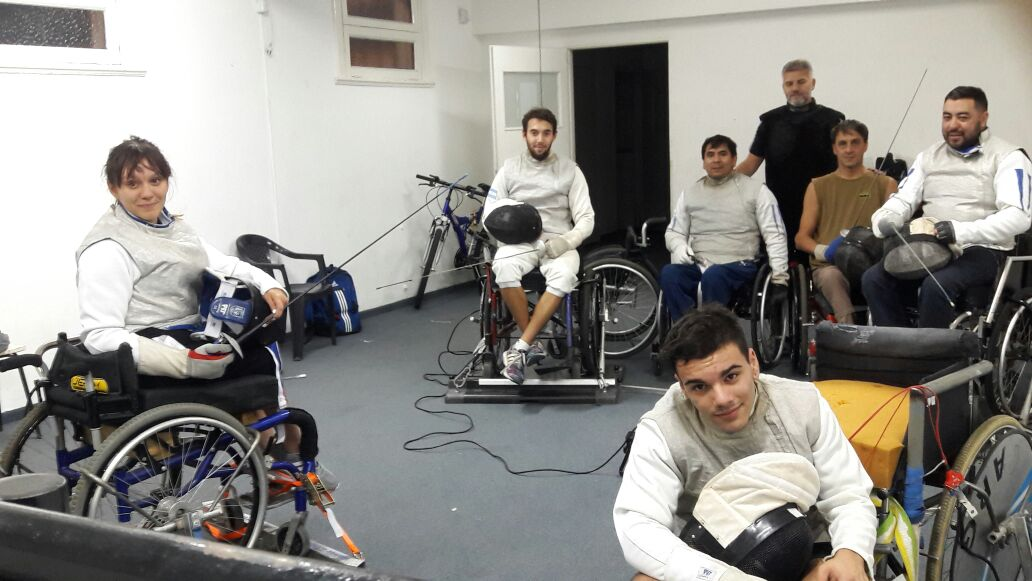 Esgrima paralímpica: calendario confirmado para la Selección Argentina