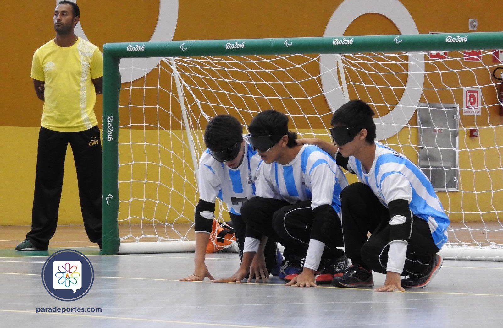 Goalball: Los Topitos en acción