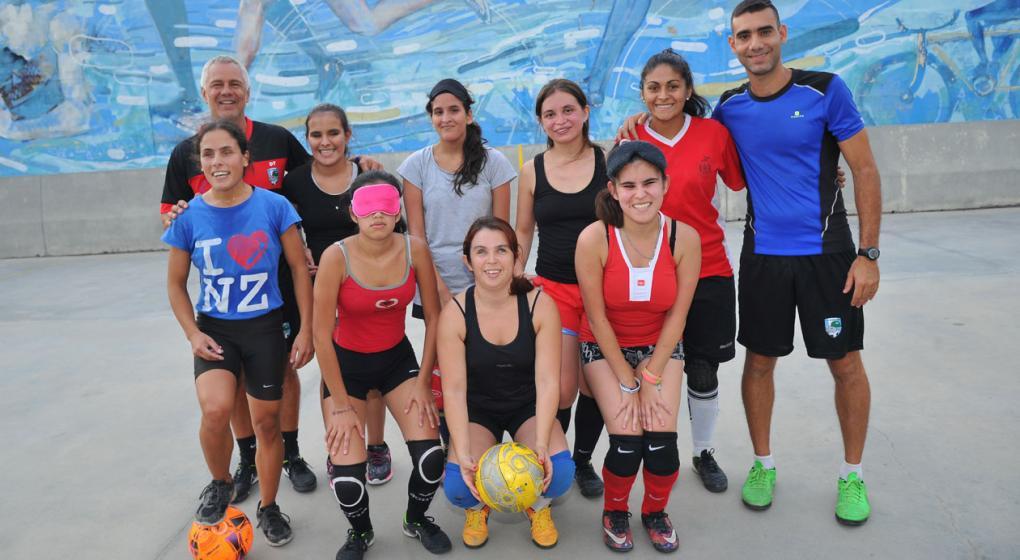 """Gonzalo Abbas en Paradeportes Radio: """"Queremos que el fútbol femenino para ciegos sea paralímpico"""""""