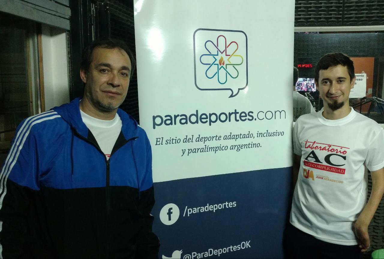 """Facundo Novik en Paradeportes Radio: """"Creo que puedo ganar una medalla en Tokio 2020"""""""