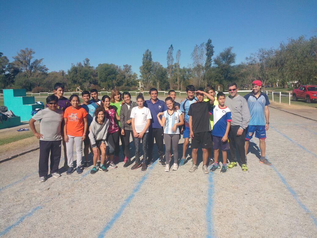 Atletismo: la Selección se concentra en Bolívar