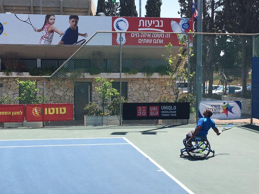 Tenis adaptado: Ledesma, Casco y Moreno avanzan en Israel