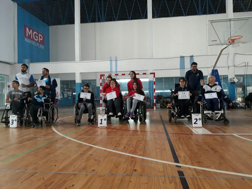 Boccia: importante concurrencia en el Open de Mar del Plata