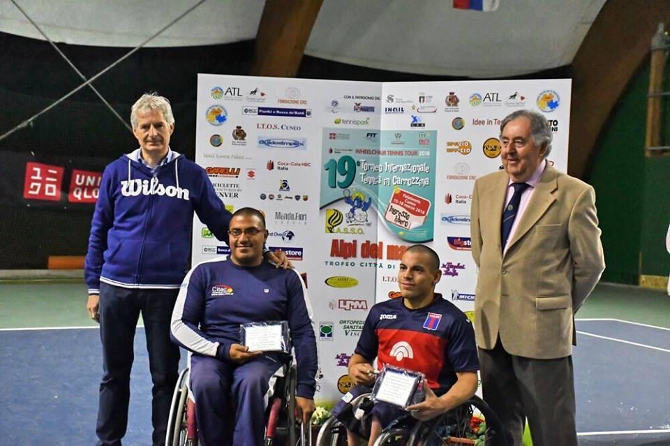 Tenis adaptado: Ledesma y Casco, campeones en Rusia