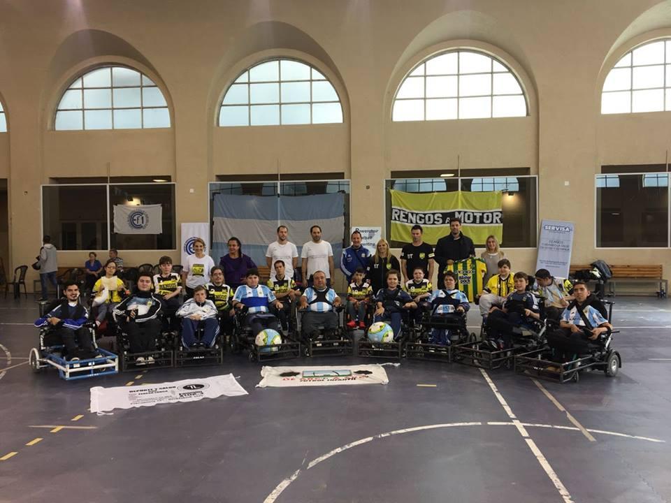 Powerchair football: la Selección Argentina se concentró en Mar del Plata