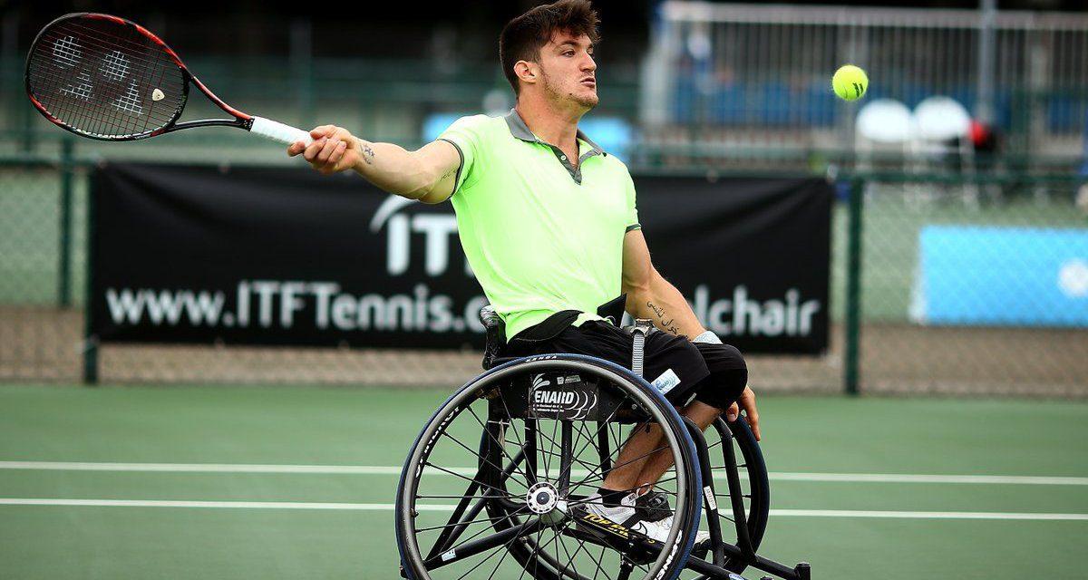 Tenis adaptado: Gustavo Fernández, finalista en Roma