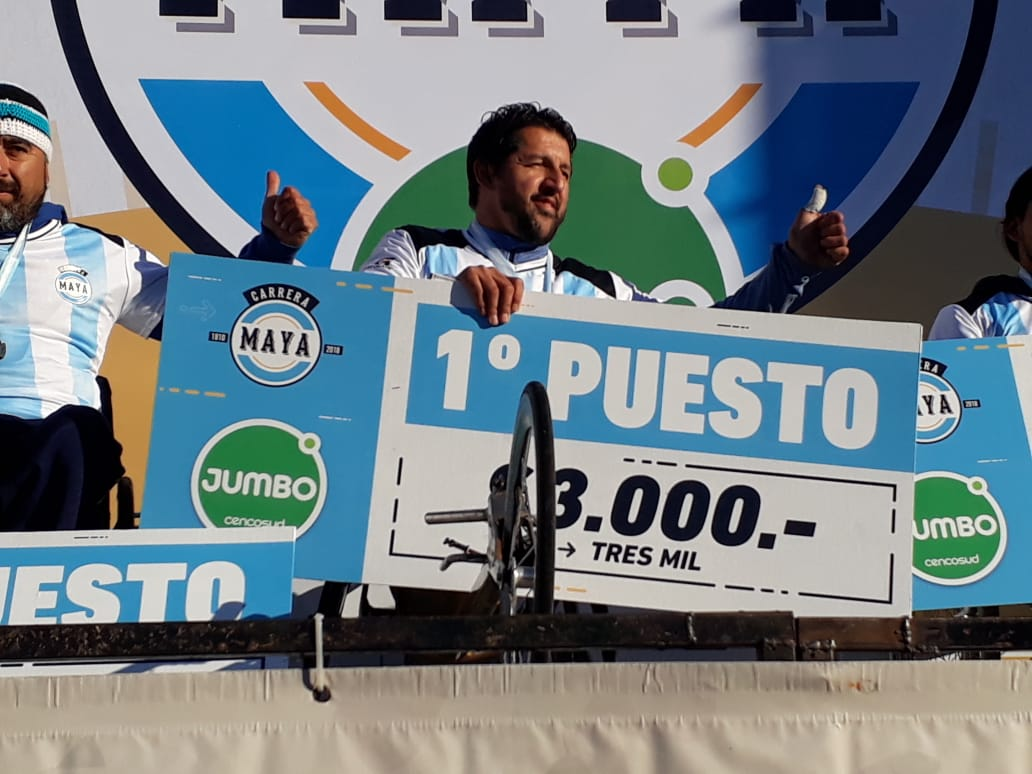 Atletismo: Alejandro Maldonado festejó en la Carrera Maya