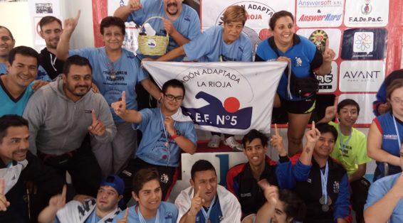 Natación: La Rioja, campeón del 2° Torneo Nacional