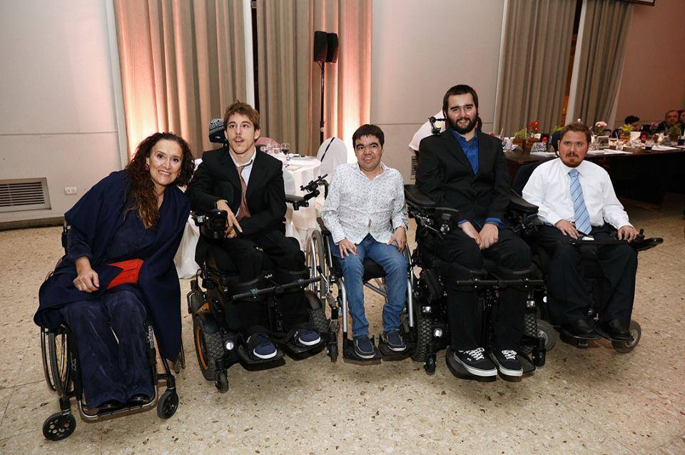 La Fundación Powerchair Fooball Argentina tuvo su cena solidaria