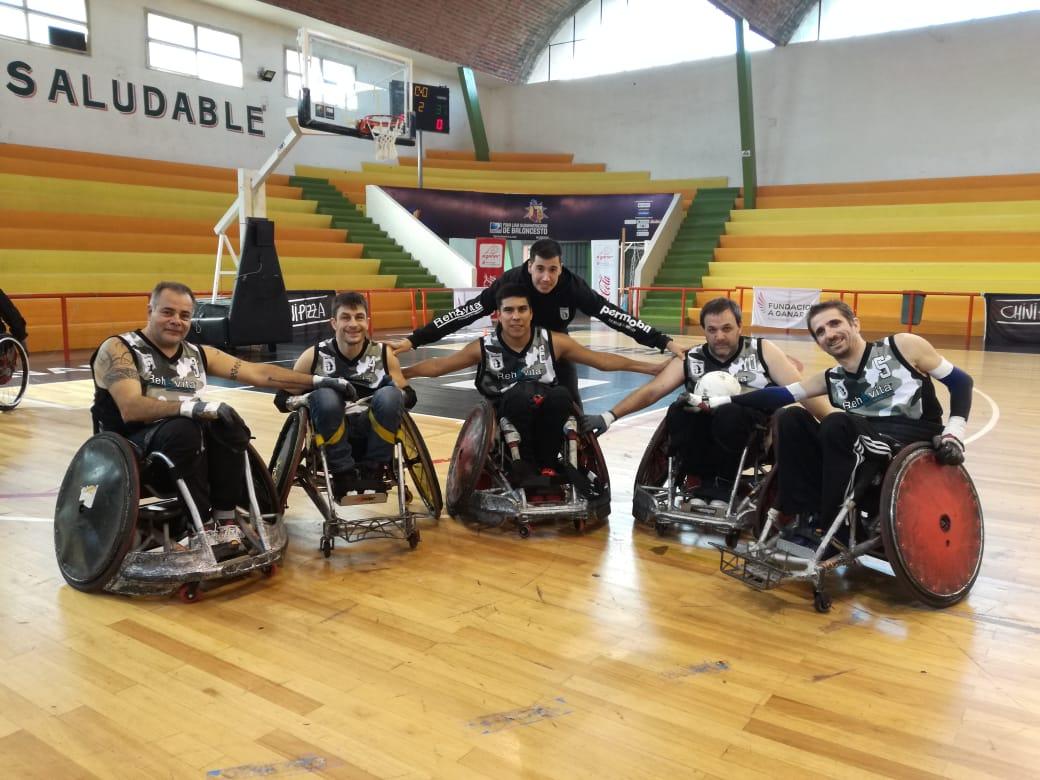Quad Rugby: Los Buitres festejaron en Uruguay