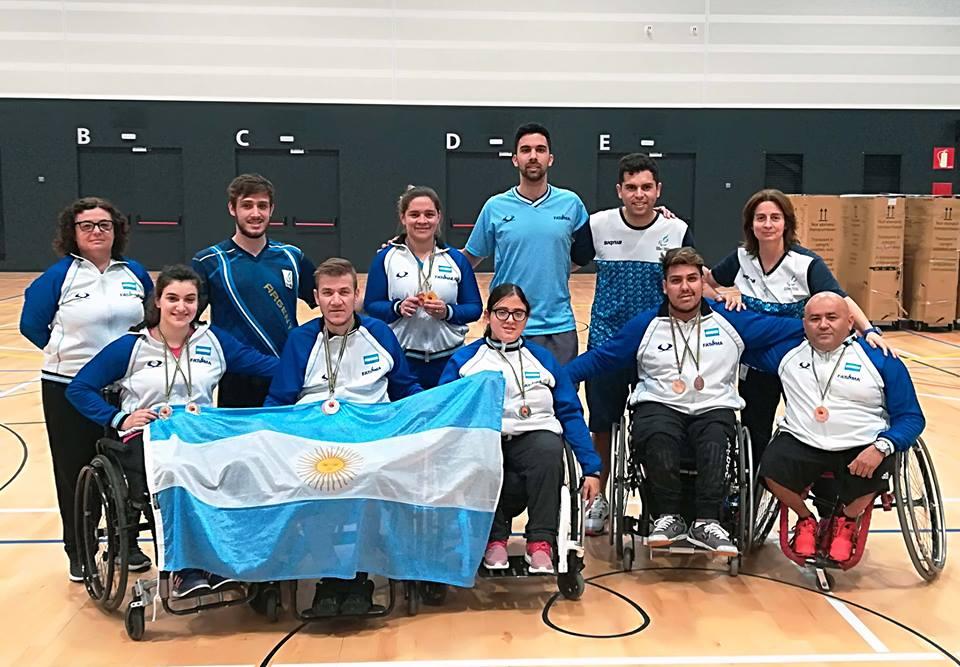 Tenis de mesa: Argentina y un buen papel en España