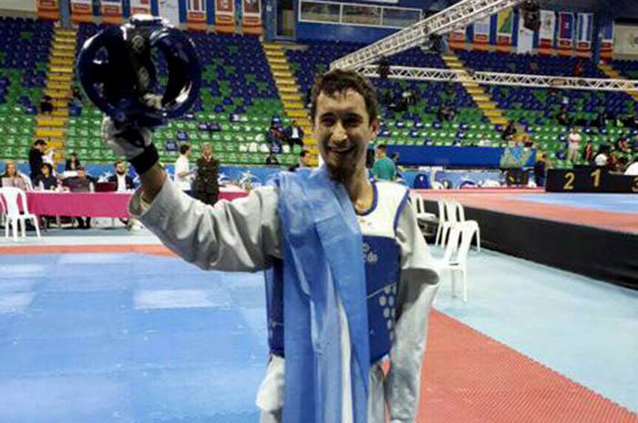 Parataekwondo: Facundo Novik quiere el tricampeonato