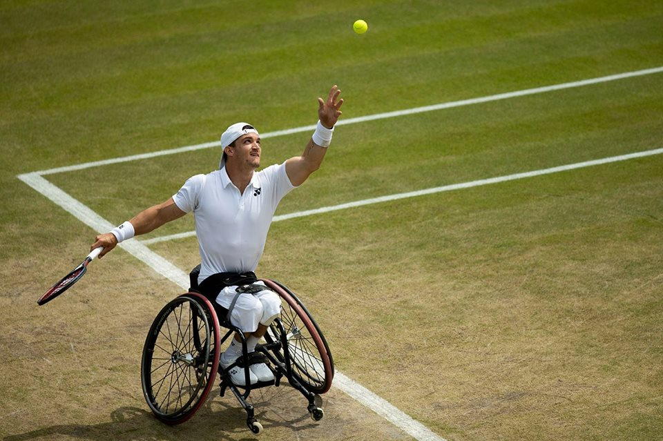 Tenis adaptado: Gustavo Fernández, finalista de Wimbledon