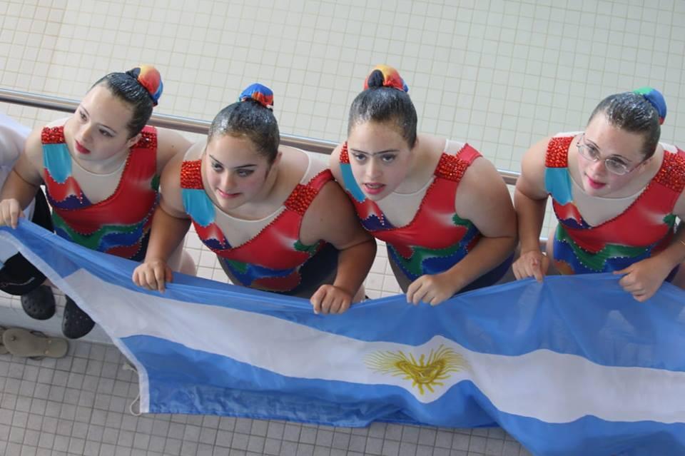 Argentina sumó más medallas en el Mundial de Deportes Acuáticos para personas con síndrome de down