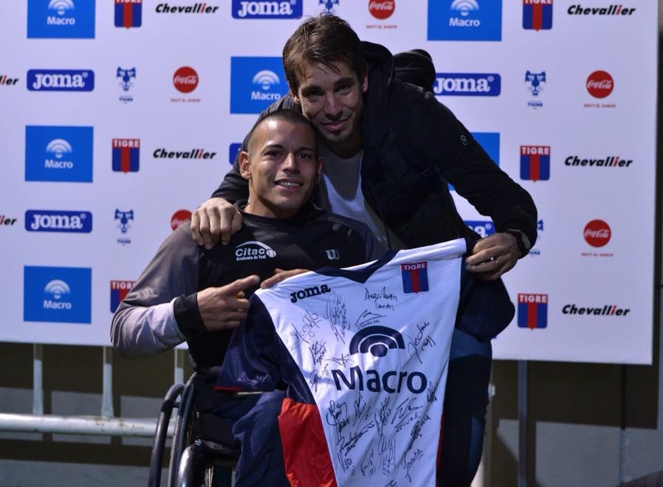 Tenis adaptado: Casco, invitado de honor en Tigre