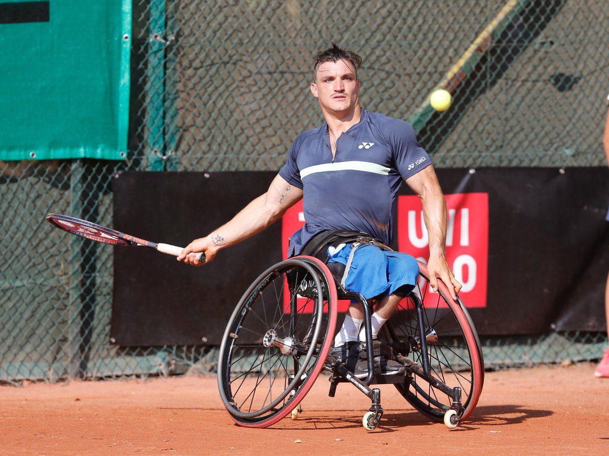 Tenis adaptado: ¡Gustavo Fernández, tricampeón en Bélgica!