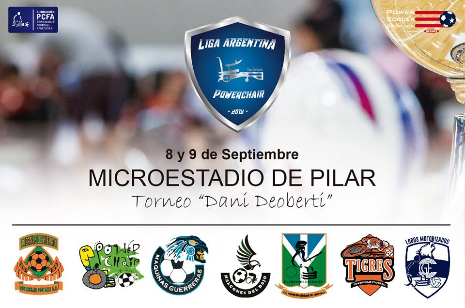 Powerchair football: arranca la segunda división