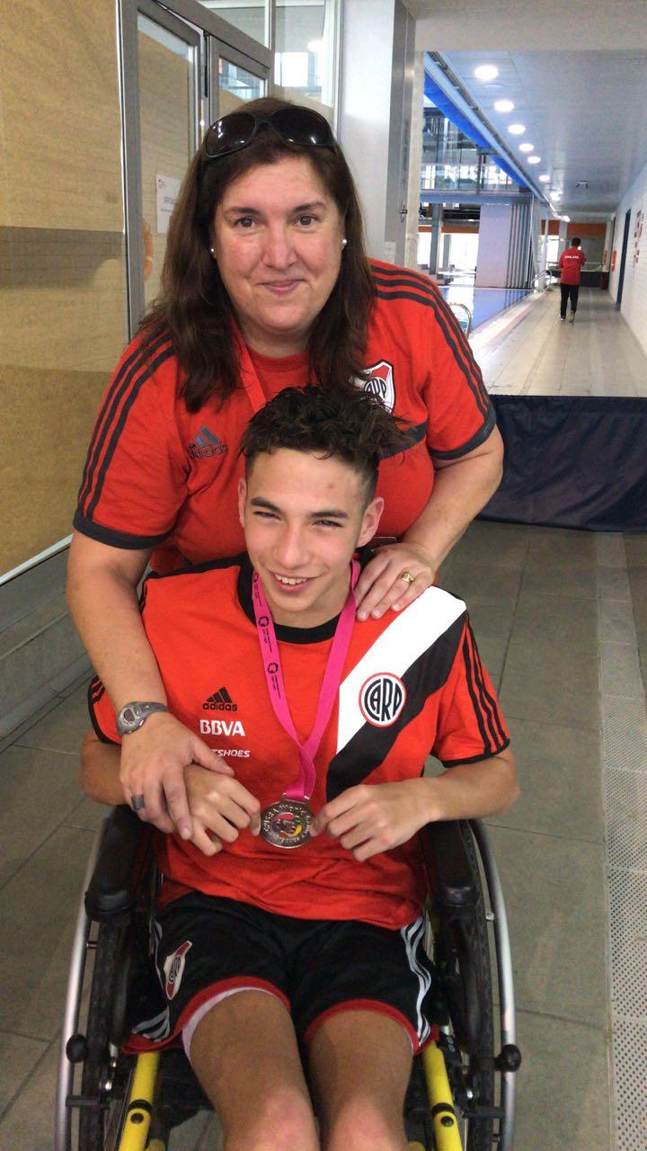Natación: Nicolás Ricci, plateada en España